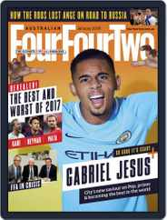 Australian FourFourTwo (Digital) Subscription January 1st, 2018 Issue
