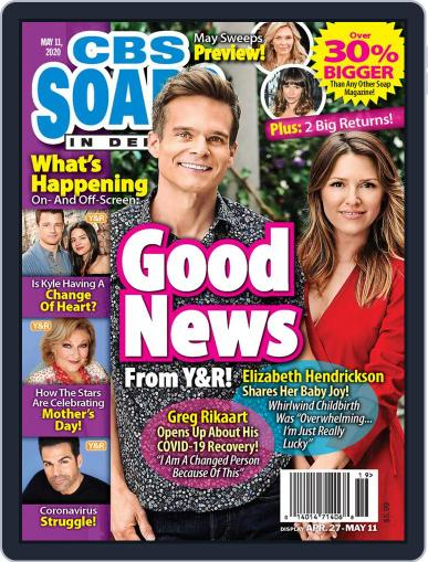 CBS Soaps In Depth May 11th, 2020 Digital Back Issue Cover