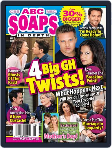 ABC Soaps In Depth May 18th, 2020 Digital Back Issue Cover