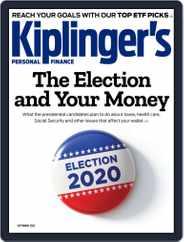 Kiplinger's Personal Finance Magazine (Digital) Subscription September 1st, 2020 Issue