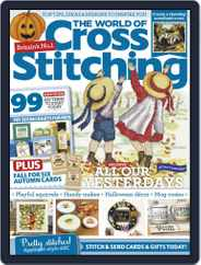 The World of Cross Stitching Magazine (Digital) Subscription October 1st, 2020 Issue