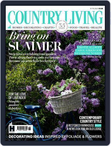 Country Living UK June 1st, 2020 Digital Back Issue Cover