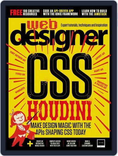 Web Designer November 1st, 2019 Digital Back Issue Cover