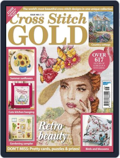 Cross Stitch Gold June 1st, 2018 Digital Back Issue Cover