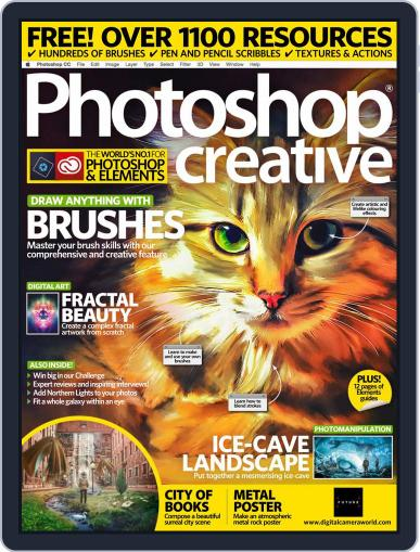 Photoshop Creative January 1st, 2019 Digital Back Issue Cover