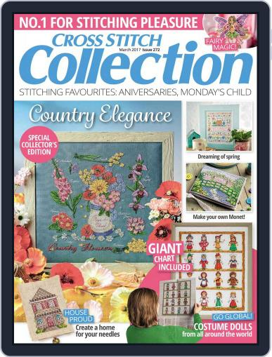Cross Stitch Collection March 1st, 2017 Digital Back Issue Cover