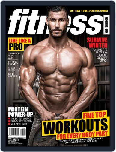 Fitness His Edition May 1st, 2018 Digital Back Issue Cover