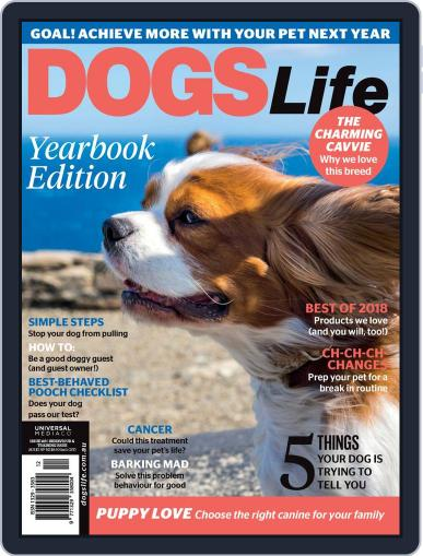 Dogs Life August 1st, 2018 Digital Back Issue Cover