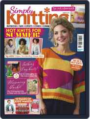 Simply Knitting Magazine (Digital) Subscription July 1st, 2020 Issue