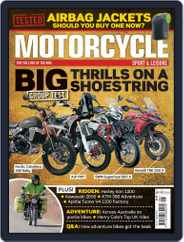 Motorcycle Sport & Leisure Magazine (Digital) Subscription August 1st, 2020 Issue