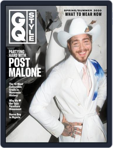 GQ Style March 5th, 2020 Digital Back Issue Cover