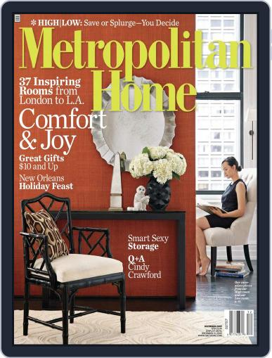 Metropolitan Home December 1st, 2009 Digital Back Issue Cover
