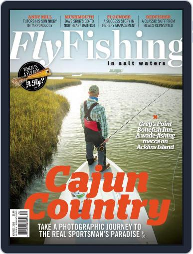 Fly Fishing In Salt Waters October 19th, 2013 Digital Back Issue Cover