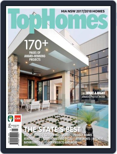 Top Homes April 1st, 2018 Digital Back Issue Cover