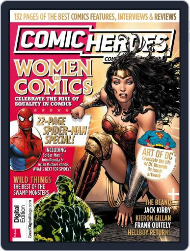 Comic Heroes July 1st, 2017 Digital Back Issue Cover