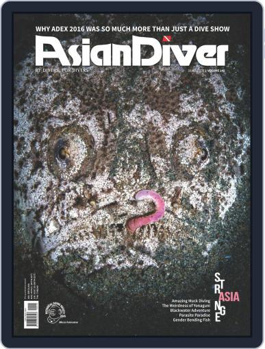 Asian Diver July 1st, 2016 Digital Back Issue Cover