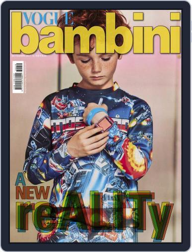Vogue Bambini September 1st, 2017 Digital Back Issue Cover