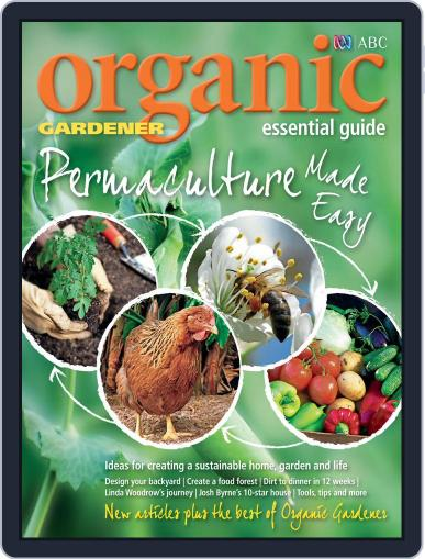 ABC Organic Gardener Magazine Essential Guides May 3rd, 2015 Digital Back Issue Cover