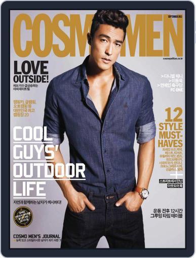 Cosmo Men Korea September 1st, 2013 Digital Back Issue Cover