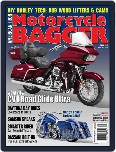 Motorcycle Bagger April 1st, 2015 Digital Back Issue Cover
