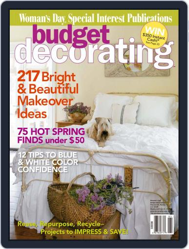 Budget Decorating Ideas April 14th, 2009 Digital Back Issue Cover