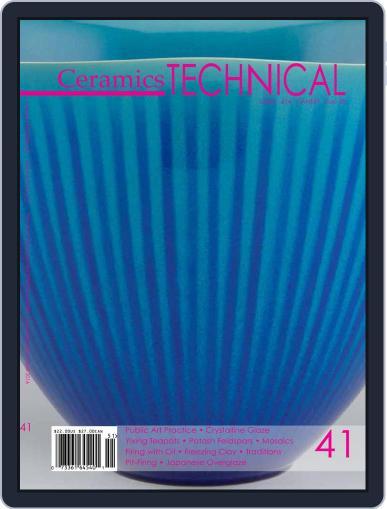Ceramics: TECHNICAL November 11th, 2015 Digital Back Issue Cover