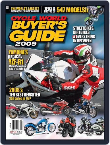 Cycle World Buyer's Guide March 4th, 2009 Digital Back Issue Cover