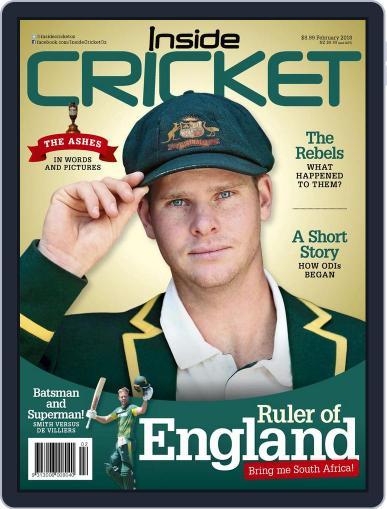 Inside Cricket February 1st, 2018 Digital Back Issue Cover