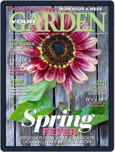 Your Garden August 1st, 2016 Digital Back Issue Cover