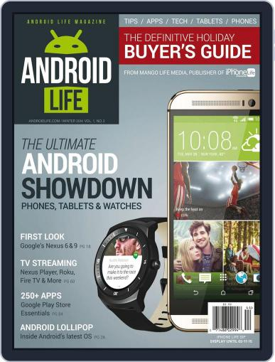 Android Life November 10th, 2014 Digital Back Issue Cover