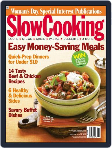 Slow Cooking October 21st, 2008 Digital Back Issue Cover