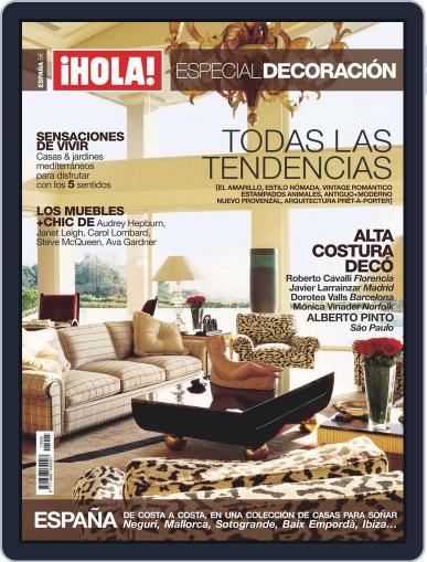 ¡hola! Especial Decoración June 2nd, 2010 Digital Back Issue Cover