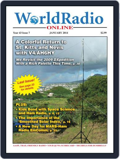 Worldradio Online January 7th, 2014 Digital Back Issue Cover