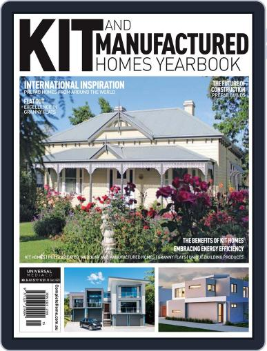 Kit Homes Yearbook May 17th, 2018 Digital Back Issue Cover
