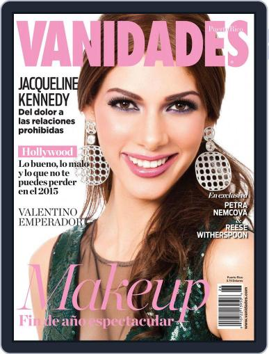 Vanidades Puerto Rico December 15th, 2014 Digital Back Issue Cover
