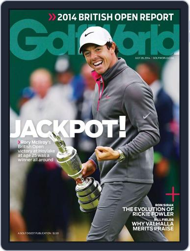 Golf World July 22nd, 2014 Digital Back Issue Cover