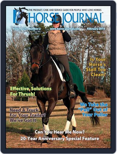 Horse Journal February 21st, 2014 Digital Back Issue Cover