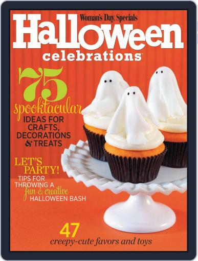 Halloween Celebrations August 28th, 2012 Digital Back Issue Cover