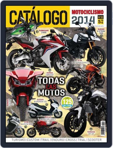 Catálogo Motociclismo March 11th, 2014 Digital Back Issue Cover