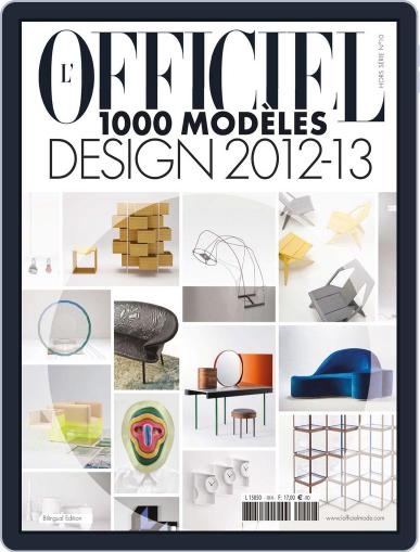 L'officel 1000 Modèles - Design June 26th, 2012 Digital Back Issue Cover