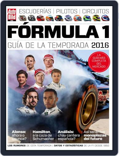 Auto Bild Es Extra F1 March 1st, 2016 Digital Back Issue Cover