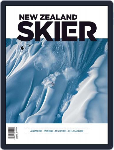 New Zealand Skier May 25th, 2015 Digital Back Issue Cover