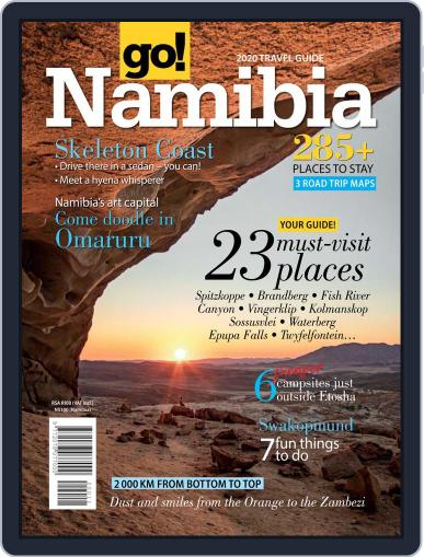 Go! Namibia April 1st, 2020 Digital Back Issue Cover