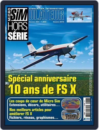Micro Simulateur Hs October 1st, 2016 Digital Back Issue Cover