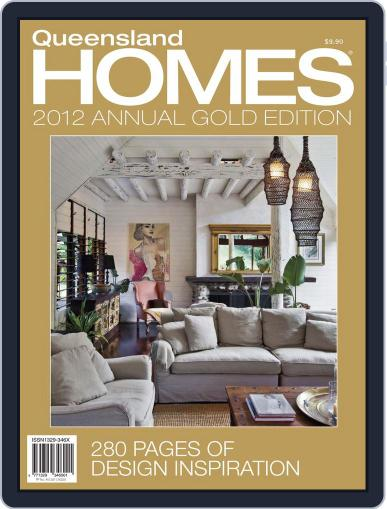 Queensland Homes Gold April 11th, 2012 Digital Back Issue Cover