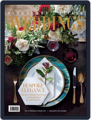 Singapore Tatler Weddings November 1st, 2017 Digital Back Issue Cover