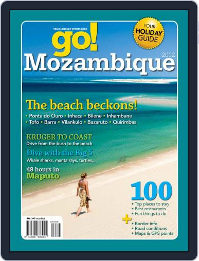 Go! Mozambique June 19th, 2012 Digital Back Issue Cover