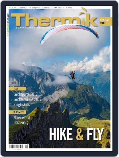 Thermik Spezial Hike & Fly October 1st, 2016 Digital Back Issue Cover