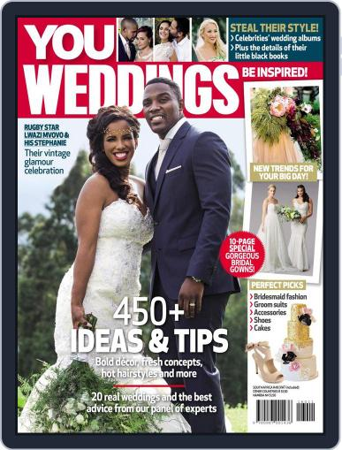 You Weddings July 1st, 2016 Digital Back Issue Cover