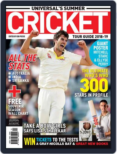 Universal's Summer Cricket Guide September 26th, 2018 Digital Back Issue Cover